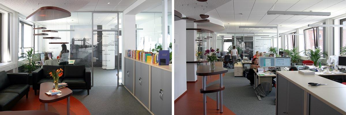 Die Büroräume von AuPairWorld in Kassel