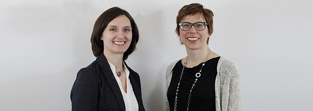 Manager directors Ann-Kristin Cohrs and Heike Fischer