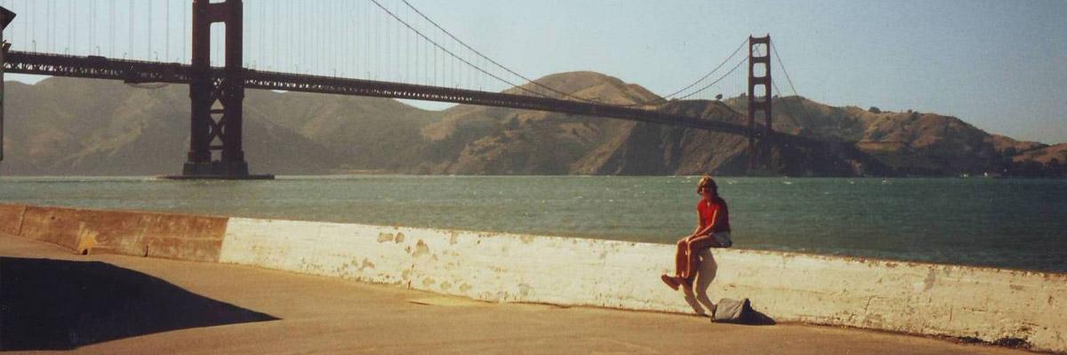 Ann Kristin in San Francisco Bay
