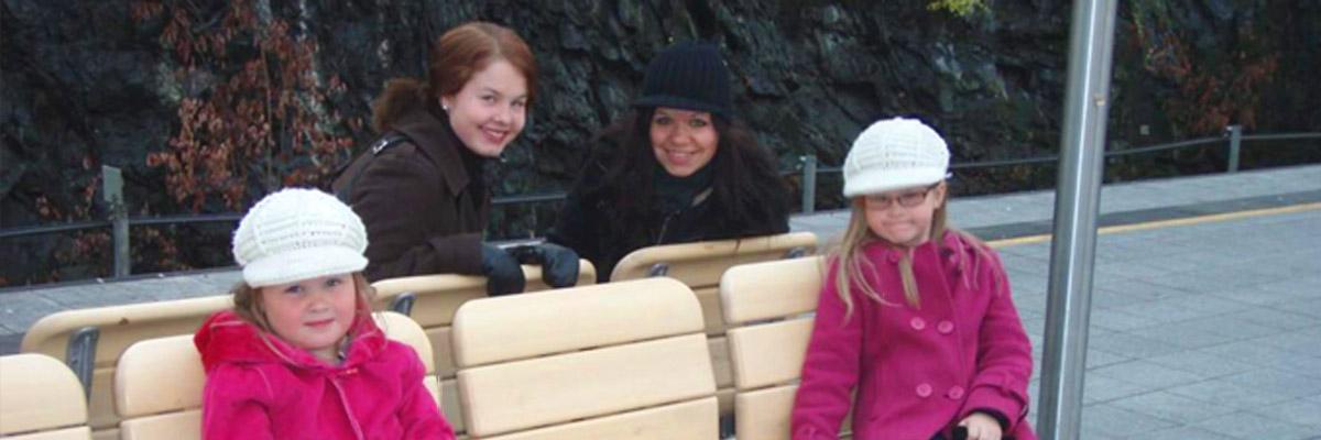 Annika und ihre Gastkinder