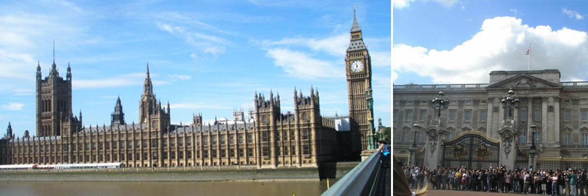 Brigitte genießt ihre Zeit in London