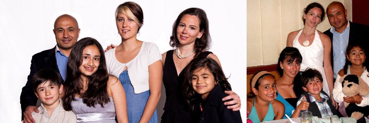 Anne-France et sa grande famille