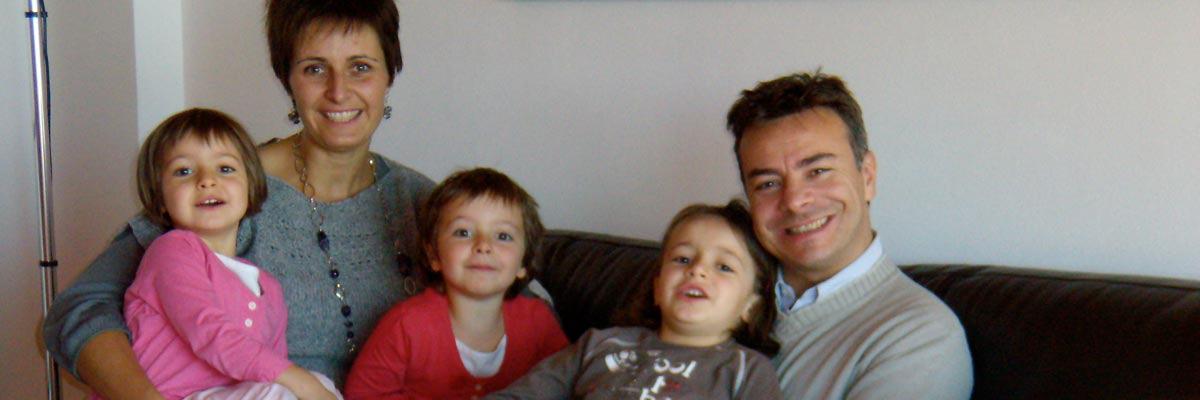 Maria, suo marito e i suoi 3 figli
