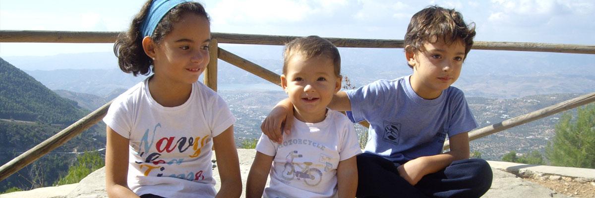 Los niños au pair de Olga en España.