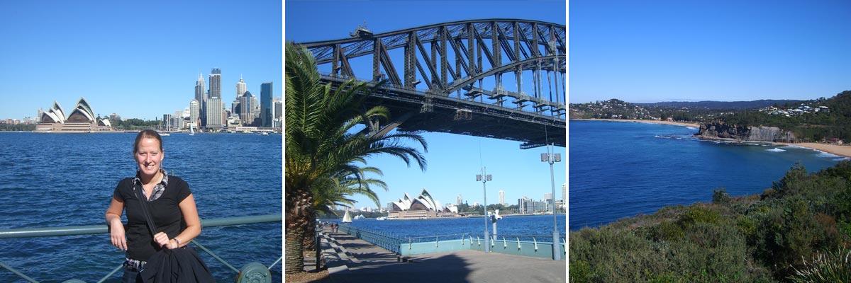Henriette hatte eine wunderbare Zeit in Sydney