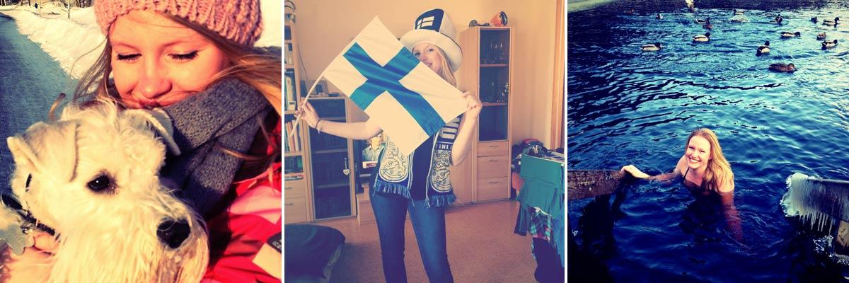 Jaqueline hat sich in Finnland verliebt