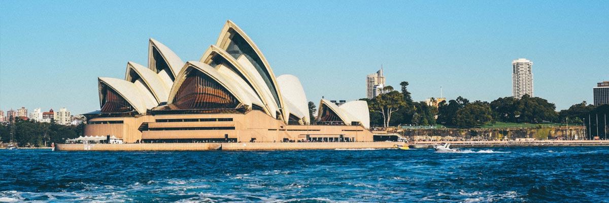 Sydney Opera Haus am Wasser