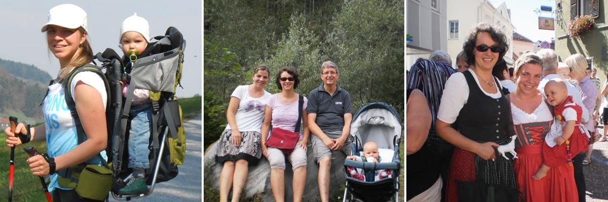 Madara unternahm viel mit Elisabeth und Pauline