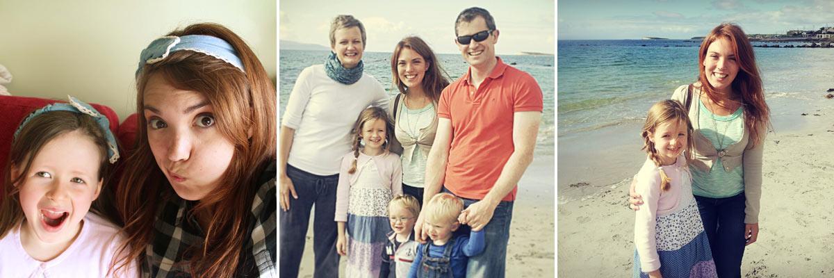 Au pair Matilde con su familia anfitriona