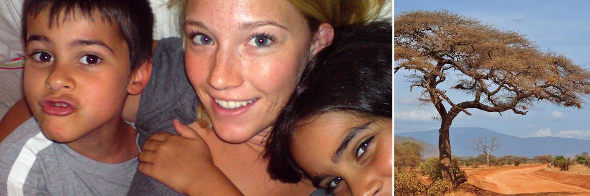 Nadine war bereits als Au-pair in Afrika und Italien