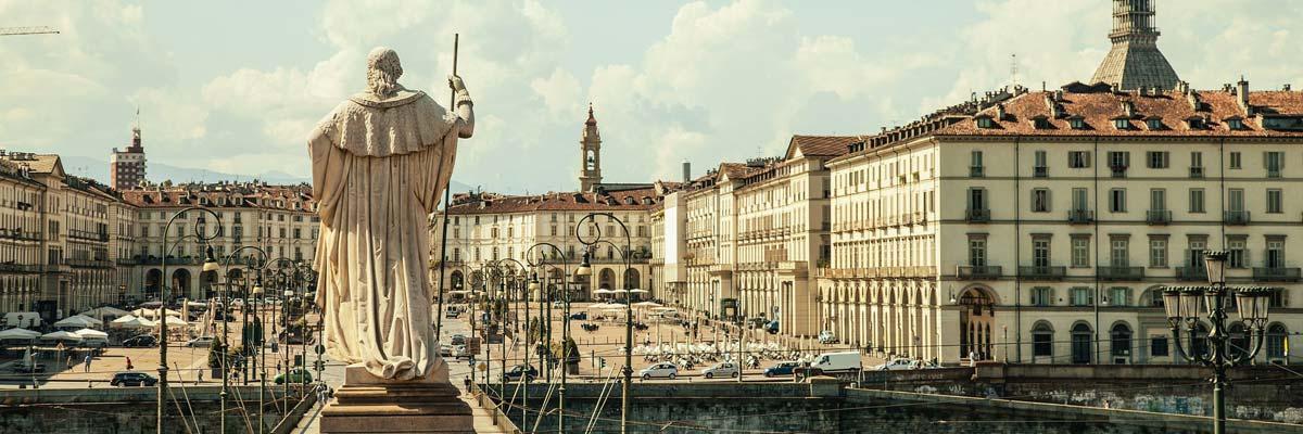Piazza Vittorio in Torino