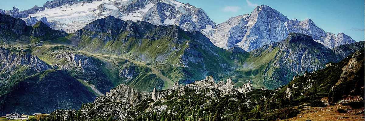 L'Italia del Nord, le Dolomiti