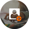 Icono crea un perfil