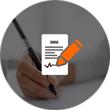 Vertrag und Versicherung Icon