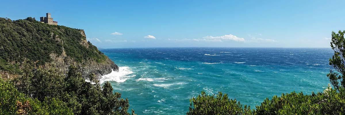 Küste Toskanas