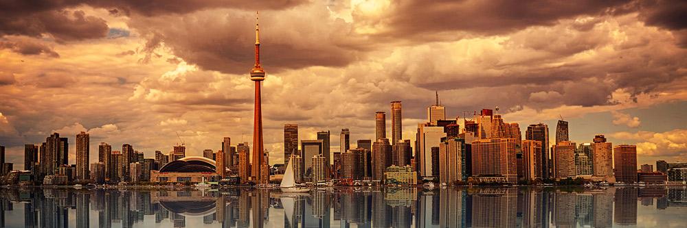 Vistas de Toronto, Canadá