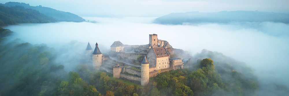 Castello di Bourscheid, Lussemburgo