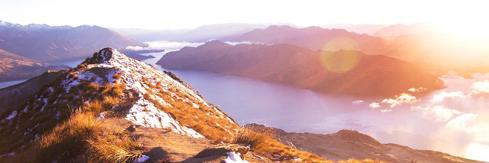 Berglandschaft in Neuseeland