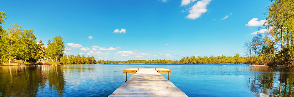 Kleiner See in Schweden
