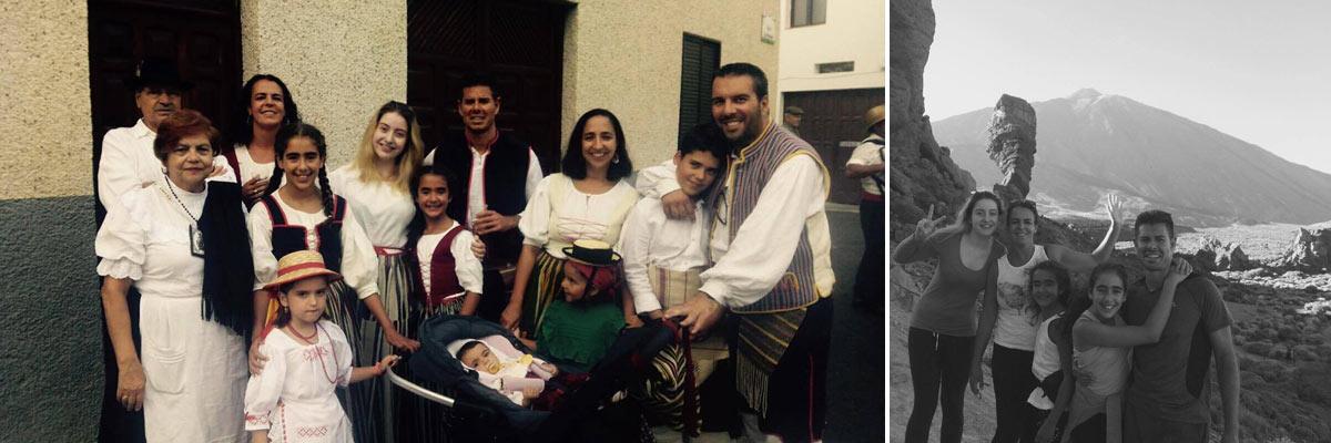Giorgia's host family