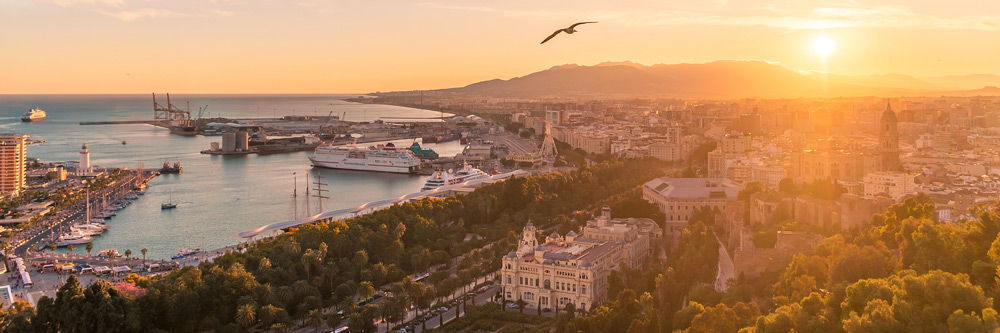 Playas de Málaga en España
