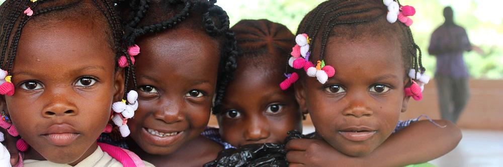 Smiling children - SOS Children's Villages