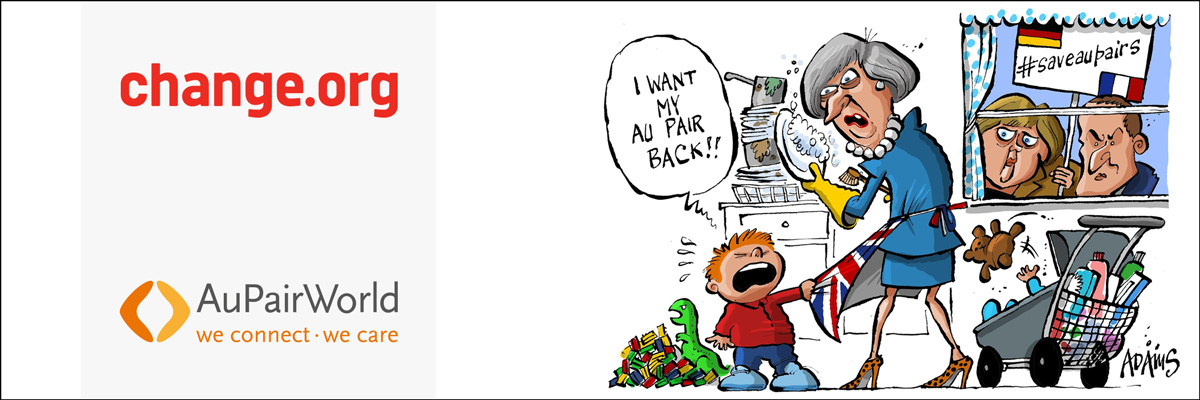 Cartoon for petition #saveaupairs