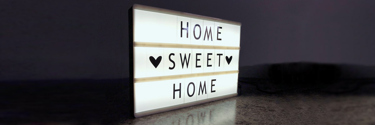 Home sweet Home Letters