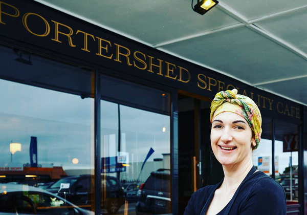 Portershed Café in Christchurch