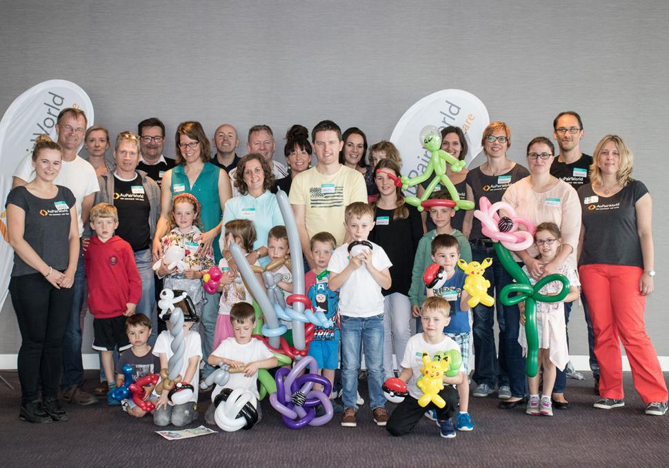 AuPairWorld host family meeting