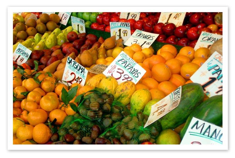 Australischer Obstmarkt