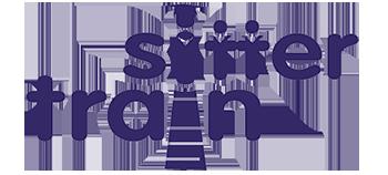 Logo Sitter Train