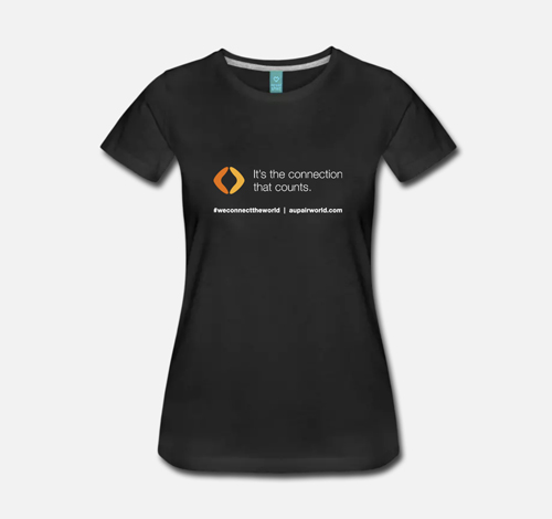 T-shirt d'AuPairWorld - version 3