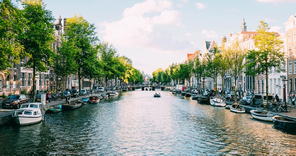 Amsterdam, hoofdstad van Nederland