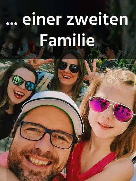 Selfie einer glücklichen Familie