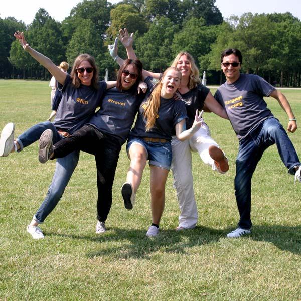 Foto divertente del Team di AuPairWorld