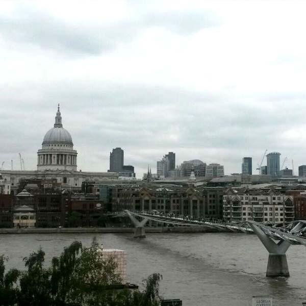 Londres gris