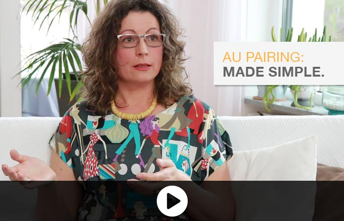 Au pair Helena and her host mom Brigitte on youtube