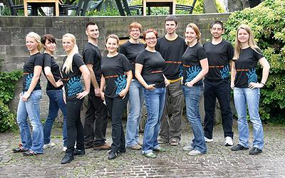 Das AuPairWorld Team bei J.P. Morgan
