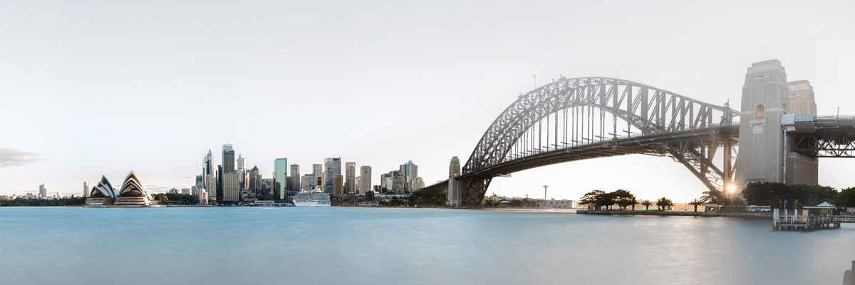 Skyline Sydney in Australien