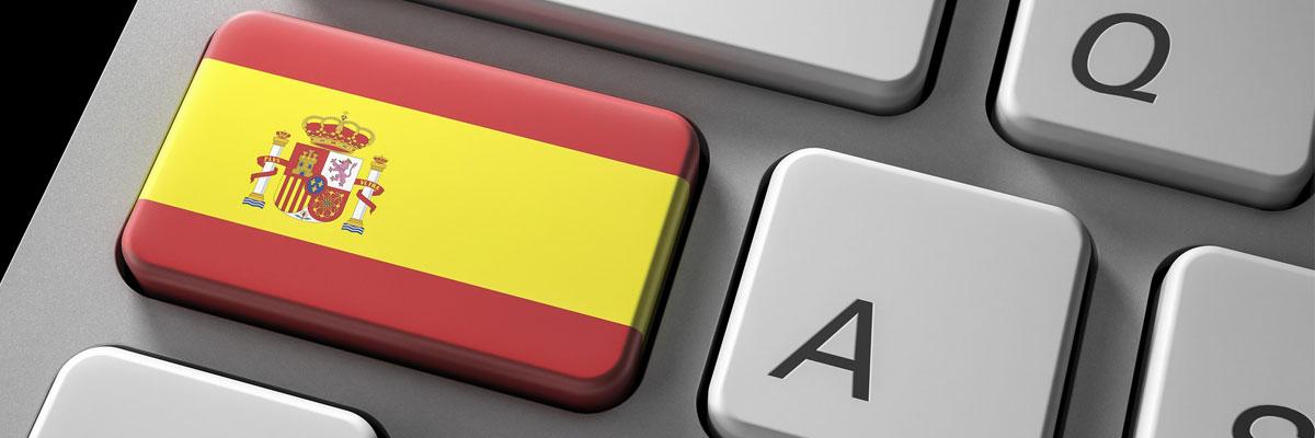 spanische Tastatur