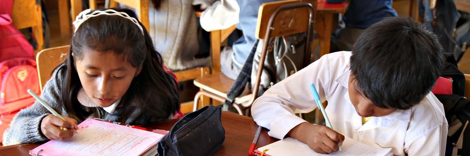 Schulkinder in Lateinamerika