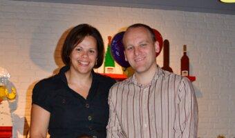 Beata and Gareth