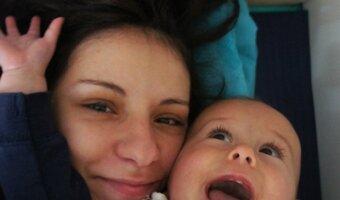 Beatriz disfruta de la vida de au pair en España