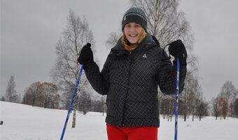Franziska fährt Ski