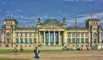 The German Bundestag in Berlin