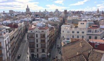 Buildings in Valencia