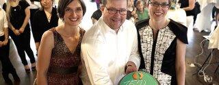 Ann-Kristin Cohrs, Uwe Regenbogen e Heike Fischer