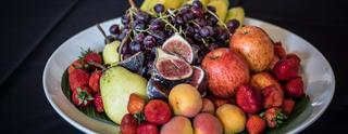 Como snack se ofrecieron diferentes tipos de fruta