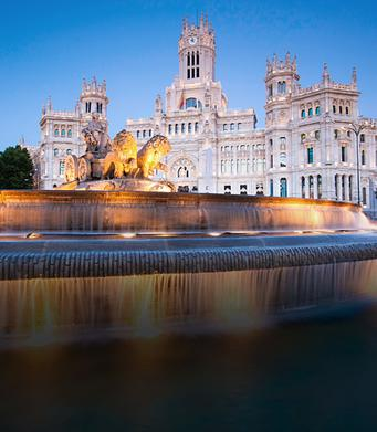 Rathaus in Madrid
